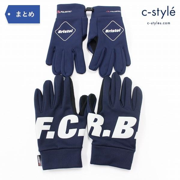F.C.Real Bristol エフシーレアルブリストル POLARTEC グローブ FREE SIZE 2点 滑り止め 手袋