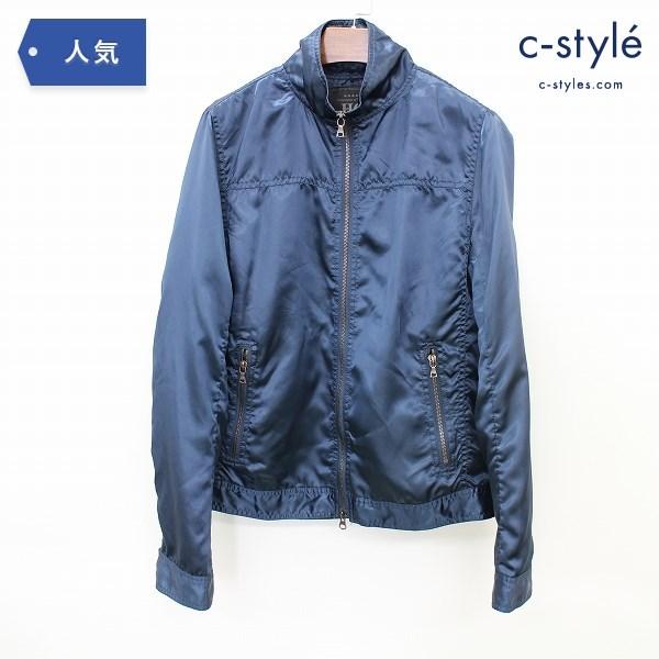 HYSTERIC GLAMOUR ヒステリックグラマー ナイロン ジャケット M ブルゾン ブルー コート
