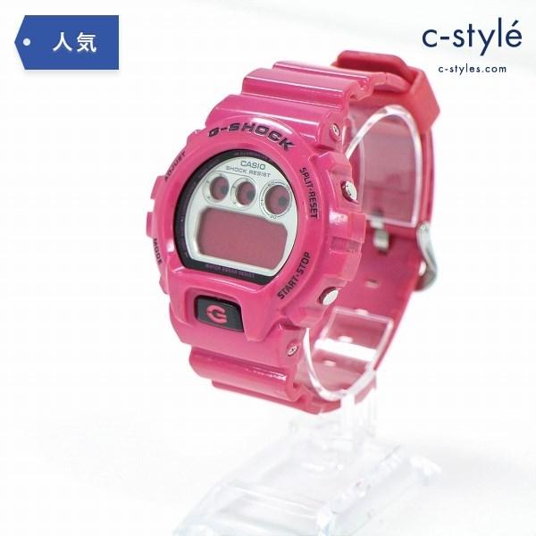 カシオ G-SHOCK ジーショック クレイジーカラーズ DW-6900CS-4JF 腕時計 ピンク 鈍獣