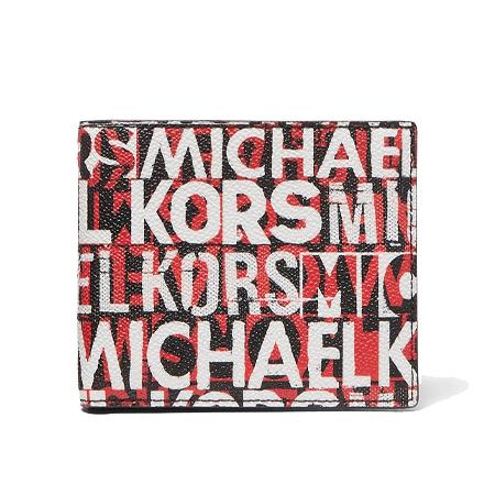 MICHAEL KORS WALLET(マイケルコース) 財布 GREYSON ビルフォールド – レターロゴ
