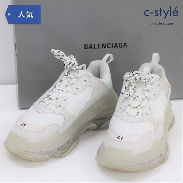BALENCIAGA バレンシアガ TRIPLE S トリプルS スニーカー size41 ホワイト