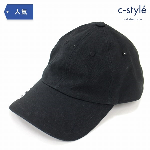 Y-3 Yohji yamamoto × adidas ロゴ ベースボール キャップ 58cm コットン ブラック 野球帽