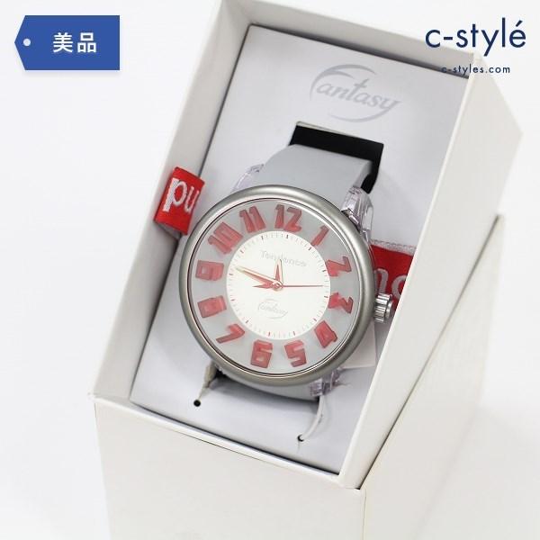 Tendence テンデンス ファンタジー クォーツ 腕時計 TG630005 ラバーバンド シルバー