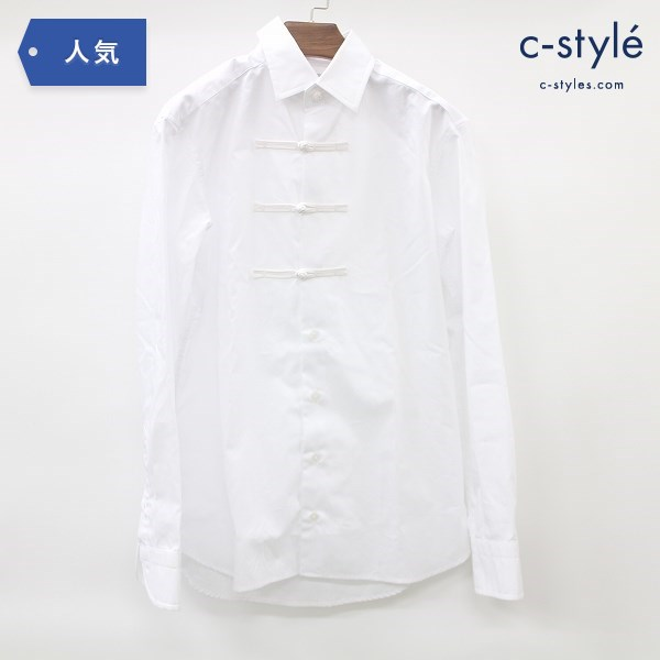 Kolor カラー 19SS Toggle Button 長袖 シャツ size1 チャイナボタン コットン