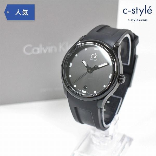 Calvin Klein カルバン クライン K2V214D1 visible ビジブル 腕時計 ラバーベルト クォーツ