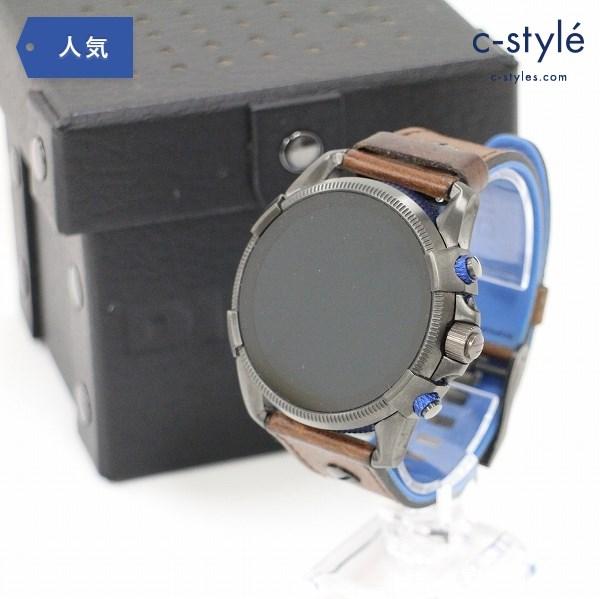 ディーゼル スマート ウォッチ DIESEL ON DW6D1 DZT2009 腕時計 革ベルト ラバー レザー