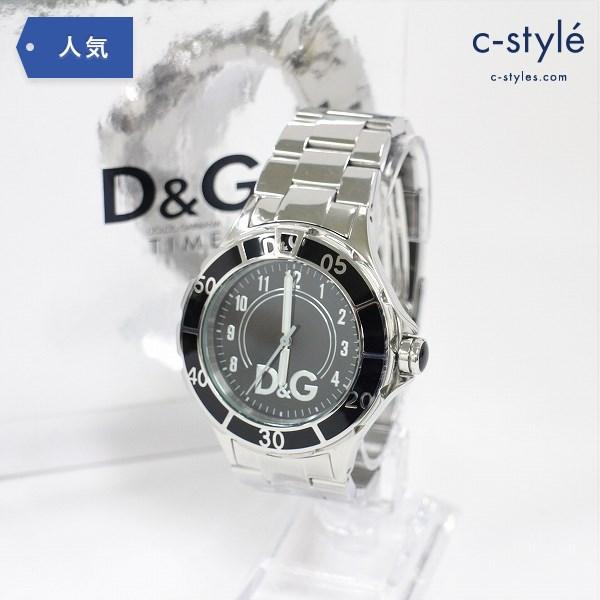 DOLCE&GABBANA ドルチェ アンド ガッバーナ TIME VD57-VD55 5ATM WATER RESISTANT 腕時計