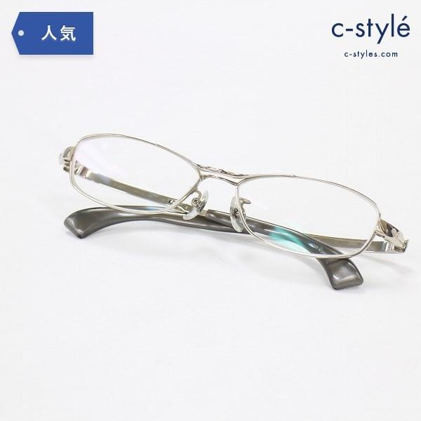 999.9 フォーナインズ チタニウム 眼鏡 メガネフレーム S-282T 度入り アイウェア フルリム