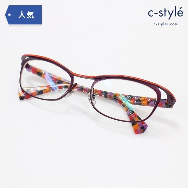alain mikli アランミクリ AO1240 MOCP 眼鏡 メガネ フレーム 度入り アイウェア フルリム