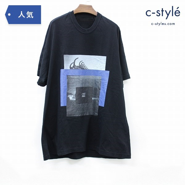 NILoS ニルズ グラフィック Tシャツ 2019 EXTRA COLLECTION HADAL ZONE; 2 I EXIST ver.1 半袖