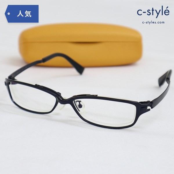 999.9 フォーナインズ 度入り眼鏡 S-821T メタルフレーム 純チタン Bチタン 合金
