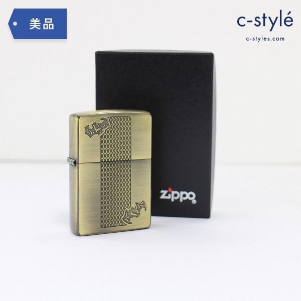ZIPPO ジッポー JT ゴールデンバット 古美仕上げ 1999 オイルライター 喫煙具 バットマン