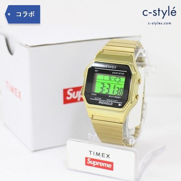 Supreme シュプリーム × Timex タイメックス Digital Watch Gold 腕時計 デジタル ウォッチ