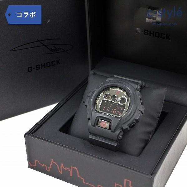 EMINEM × G-SHOCK GD-X6900MNM-1JR エミネム コラボ 限定 腕時計 三つ目 スラッシャー