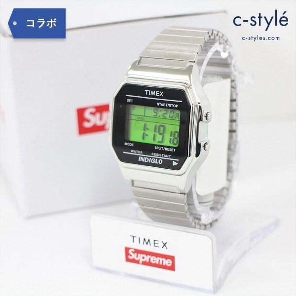 Supreme シュプリーム × Timex タイメックス Digital Watch Silver デジタル ウォッチ