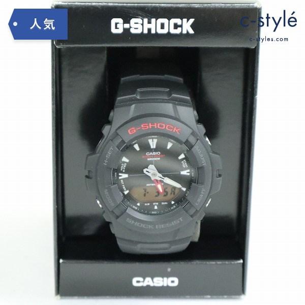 カシオ G-SHOCK ジーショック 腕時計 G-101-1AVMDS 防水 多機能 デジダル ブラック