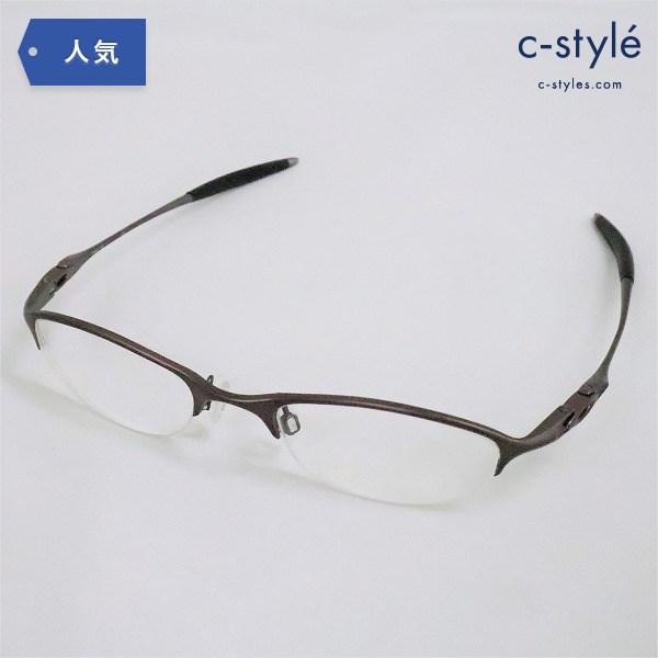 OAKLEY オークリー Chain 4.0 Ti Dark Bronze 11-743 度入り 眼鏡 アイウェア フレーム