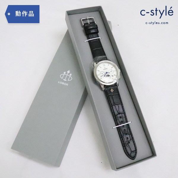 LOBOR ロバー CELLINI S DES VOEUX 腕時計 ウォッチ レザー 自動巻き 生活防水