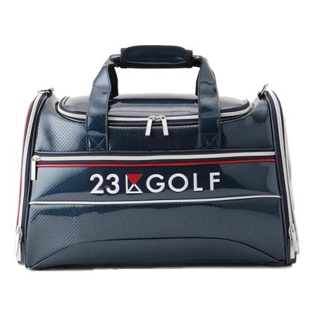 23区GOLF(ニジュウサンクゴルフ) エナメルボストン バッグ