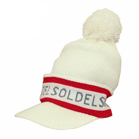 DELSOL GOLF(デルソルゴルフ) ロゴ入りニットキャップ
