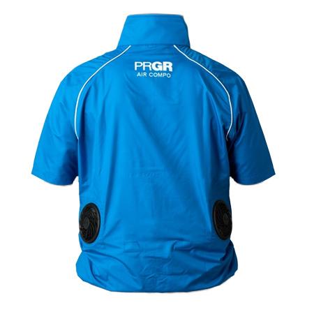 PRGR(プロギア)ゴルフウェア AIR COMPO 半袖 薄型ファンタイプ(ファン、バッテリーセット付)