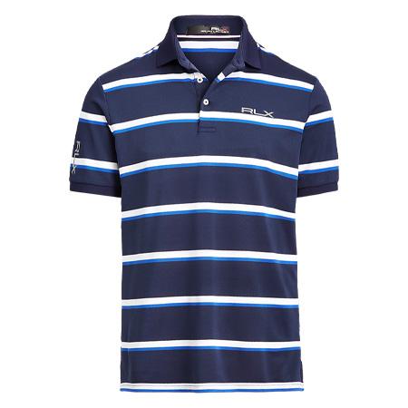 RALPH LAUREN(ラルフローレン)ゴルフウェア カスタム スリム ハイテクピケ ポロシャツ