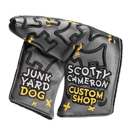 Scotty Cameron(スコッティキャメロン)ゴルフウェア Dancing Junk Yard Dog – STANDARD ブレード型 パターカバー