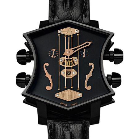 ArtyA(アーティア) SOUND29 – Guitar Watch Black Gold 2