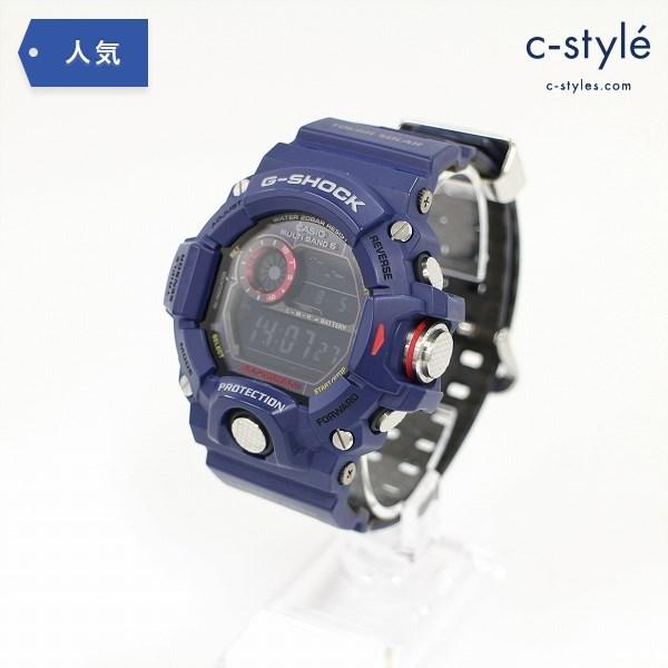 CASIO カシオ G-SHOCK ジーショック マスターオブG GW-9400NVJ-2JF ネイビーブルー 腕時計 ミリタリー