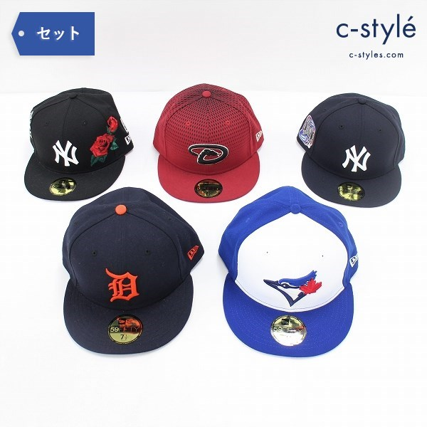 NEW ERA 59FIFTY キャップ 7 1/2 59.6cm MLB ベースボールキャップ 帽子