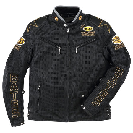 BATES(ベイツ)バイク 2wayメッシュジャケット 防風インナー付き