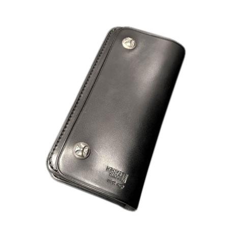 STOP LIGHT(ストップライト) Boots Leather Long Wallet Black / Stop Light ストップライト 二つ折り長財布(黒)