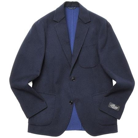 Belvest(ベルベスト) ダブルフェイスウールフランネスソリッド2Bジャケット G42DBA/23366-003