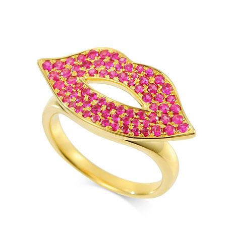 Bijou de M(ビジュードエム) Lip Ring