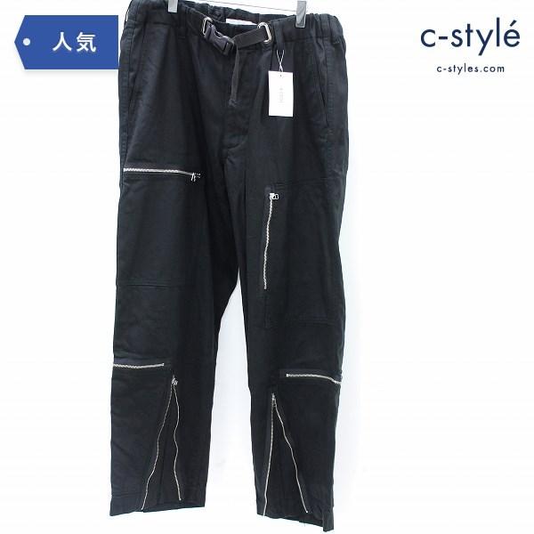 ROTOL ロトル OVER BTG PANTS オーバー パンツ size3 日本製
