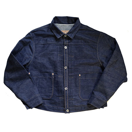 Bowery Blue Makers(バワリーブルーメーカーズ) TYPE-LB AUTHENTIC PLEATED BLOUSE