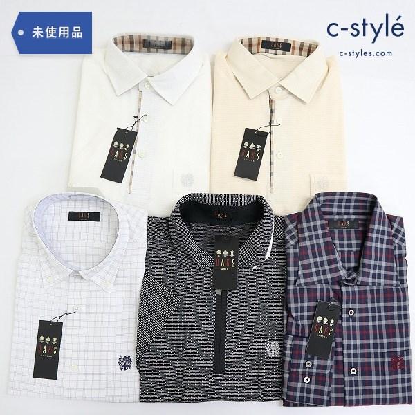 DAKS ダックス シャツ ポロシャツ L 5点 半袖 長袖 チェック 薄手 カジュアル