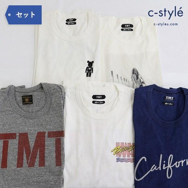 TMT ティーエムティー カットソー S-M 5点 Tシャツ 半袖 長袖 ベアブリック
