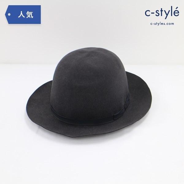 Lock&Co. Hatters ハット 7 1/4 チャコールグレー ファッション小物 帽子