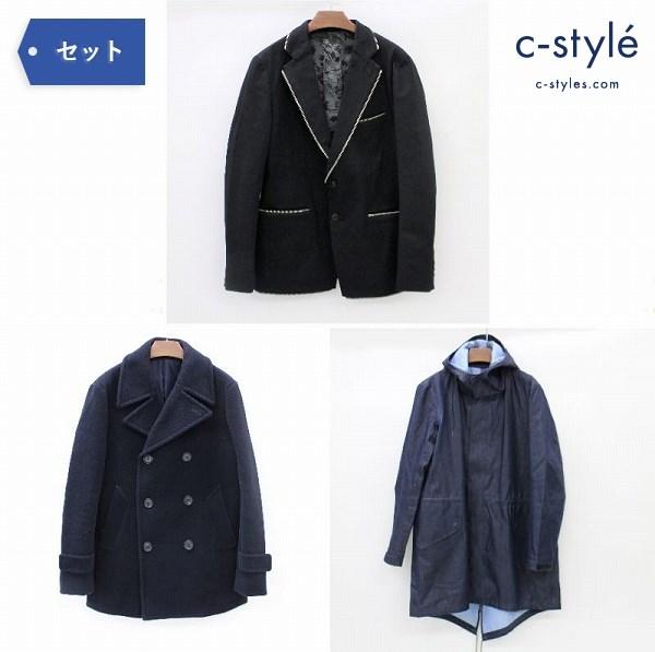 40ct&525 TAKEO KIKUCHI フードコート ジャケット Pコート size2 タケオキクチ
