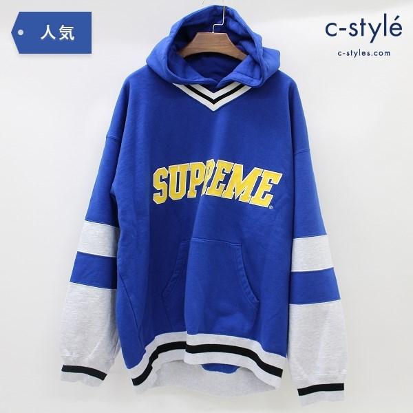 Supreme シュプリーム Hockey Hooded Sweatshirt パーカー L プルオーバー