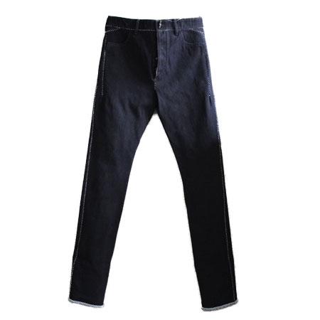 CAROL CHRISTIAN POELL(キャロルクリスチャンポエル) OVERLOCK ONE-PIECE DEAD END JEANS