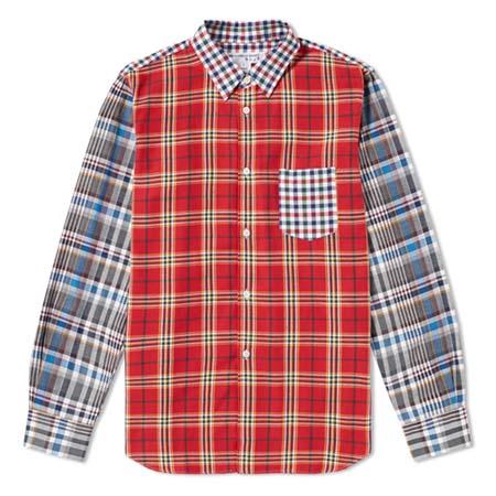 COMME des GARCONS SHIRT boys(コムデギャルソンシャツボーイズ) Patchwork Shirt