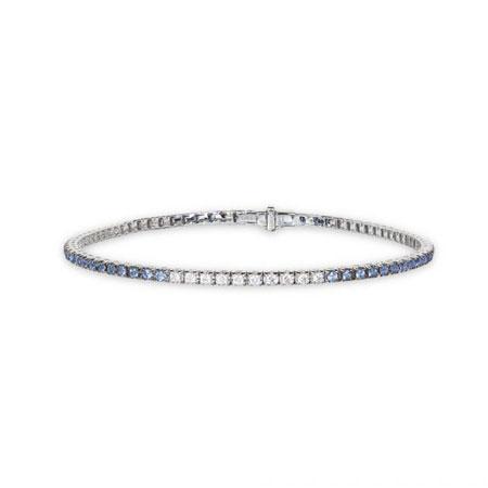 DAMIANI(ダミアーニ) タイムレス クラッシコ・アイスバーグ ホワイトゴールド ダイヤモンド サファイア ブレスレット17.5cm