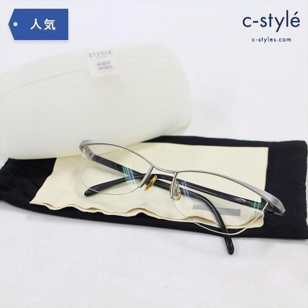STARCK EYES × alain mikli 眼鏡 BIOOP.T17 P0113-07 メガネ フレーム 度入り