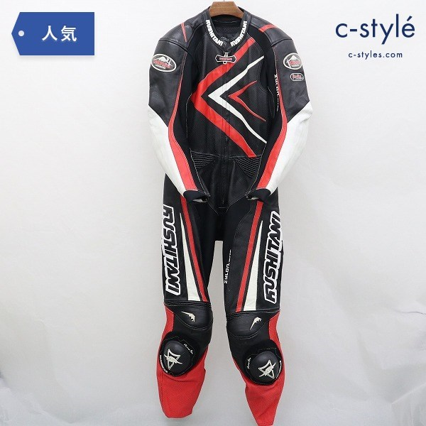 KUSHITANI クシタニ レーシングスーツ LL レザー バイク用品 オートバイ