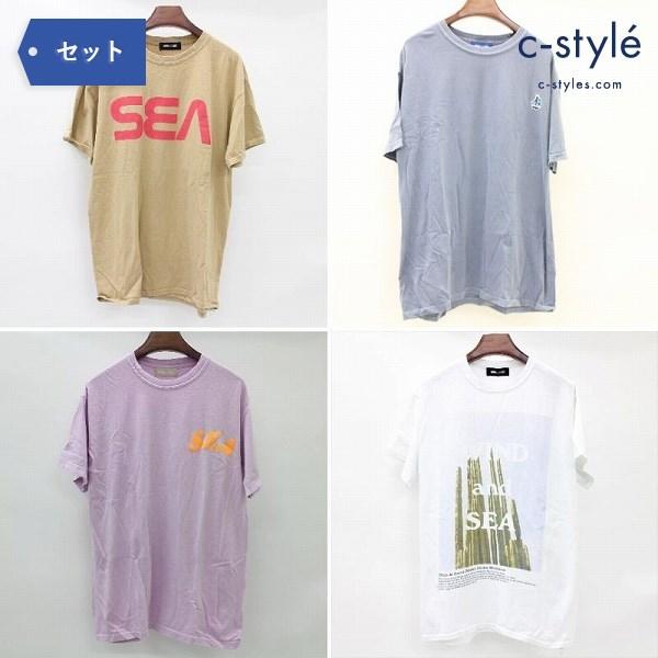 WIND AND SEA ウィンダンシー Tシャツ カットソー 半袖 M 4点 サボテン TEE