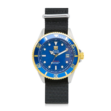 ELGIN(エルジン) 腕時計ソ-ラ-SS06BK