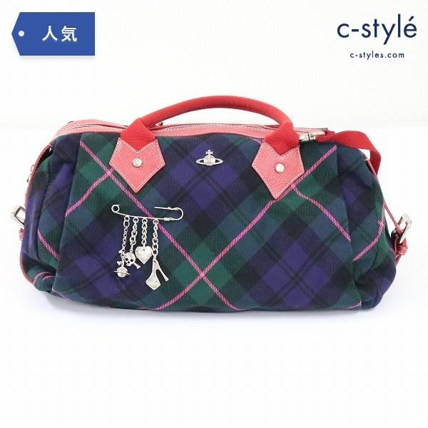 Vivienne Westwood ヴィヴィアン ウエストウッド 2WAY ボストンバッグ 鞄