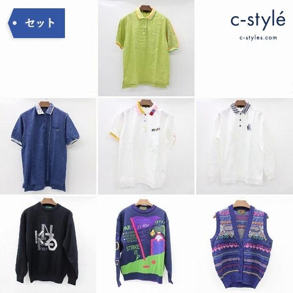 KENZO GOLF ケンゾー ゴルフ ポロシャツ ベスト ニット セーター size1 3
